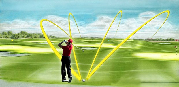 Dual Fairway Multi Shot Golf Design